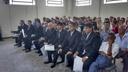 Autoridades eleitas tomam posse durante solenidade