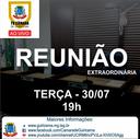 Câmara convida a população a participar da 3ª Reunião Extraordinária de 2019