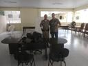 Câmara faz entrega de mobiliário para Polícia Militar