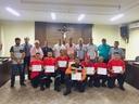 Câmara Municipal concede Moção Honrosa a bombeiros e socorristas voluntários