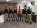 Guiricema recebe novos Polícias Militares