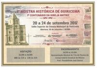 I Mostra Histórica de Guiricema