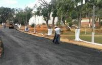 Parlamentar cobra conclusão de asfaltamento no Cruzeiro